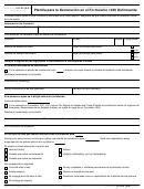 Formulario 15103(sp) - Planilla Para La Declaracion En El Formulario 1040 Delincuente(spanish Version)