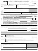 Formulario 2350(sp) - Solicitud De Prorroga Para Presentar La Declaracion Del Impuesto Sobre El Ingreso Personal De Los Estados Unidos (spanish Version) - 2017
