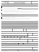 Form 14039 - Identity Theft Affidavit