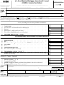 Form 1066 - U.s. Real Estate Mortgage Investment Conduit (remic) Income Tax Return - 2017