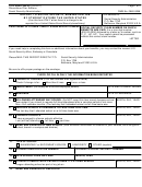 Form Ssa-1383-fc - Reporting To Social Security Administration By Student Outside The United States