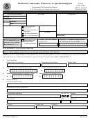 Form I-360 - Petition For Amerasian, Widow(er), Or Special Immigrant
