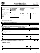 Form I-600a - Application For Advance Processing Of An Orphan Petition