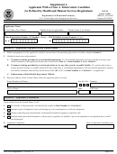 Form I-690 - Supplement 1 - Applicants With A Class A Tuberculosis Condition