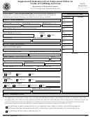 Form I-914 - Supplement B - Declaration Of Law Enforcement Officer For Victim Of Trafficking In Persons