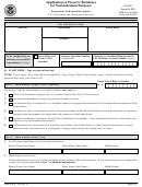 Form N-470 - Application To Preserve Residence For Naturalization Purposes