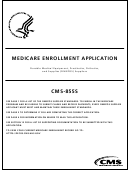 Form Cms-855s - Medicare Enrollment Application - Durable Medical Equipment, Prosthetics, Orthotics, And Supplies (dmepos) Suppliers