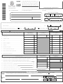 Form Nyc-115 - Unincorporated Business Tax Report Of Change In Taxable Income Made By Internal Revenue Service And/or New York State Department Of Taxation And Finance - 2002
