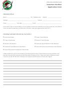 Volunteer Position Application Form