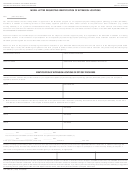 Form Cms-381 - Model Letter Requesting Identification Of Extension Locations