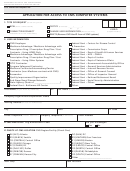 Form Cms-20037 - Application For Access To Cms Computer Systems