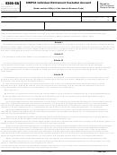 Form 5305-sa - Simple Individual Retirement Custodial Account