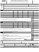 Form 2438 - Undistributed Capital Gains Tax Return
