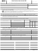 Form 8819 - Dollar Election Under Section 985