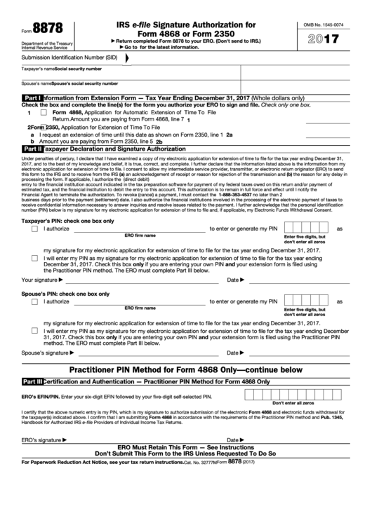 Top 12 Irs Form 8878 Templates Free To Download In Pdf Format