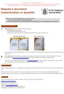 Request A Document Authentication Or Apostille - New Zealand Authentication Unit