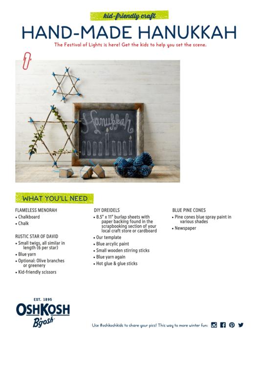 dreidel template for hanukkah printable pdf download