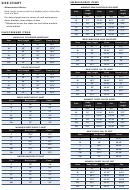 Clothing Size Chart - Assa Store