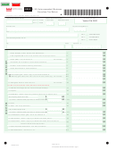 Form D-30 - Unincorporated Business Franchise Tax Return - 2010