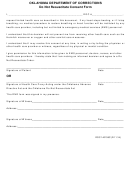 Form Doc 140138c - Do Not Resuscitate Consent - Oklahoma Department Of Corrections