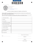 Form St-c-214-12 - Notice Of Funds Withheld By General Contractor - 2017