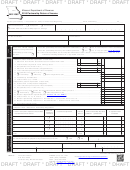 Form Mo-1065 Draft - Partnership Return Of Income - 2016