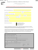Sd Eform 2085 V4 - Request For Consideration Of Indian Use Only Projects