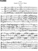 Mozart - Quarter No. 4 In C Major K. 157 - Sheet Music