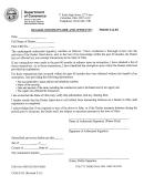 Form Com 4523 - Dealer Questionnaire And Affidavit - Ohio Dept.of Commerce