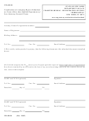 Form Char010 - Certification To Accompany Reports Submitted On Forms Other Than Official Department Of Law (attorney General) Forms