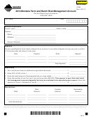 Montana Form Frm - 2010 Montana Farm And Ranch Risk Management Account