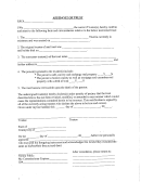 Affidavit Of Trust Template
