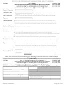 Form Cf-1065 - Draft - Partnership Common Form - 2013