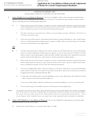 Form Eoir-42b - Application For Cancellation Of Removal And Adjustment Of Status For Certain Nonpermanent Residents