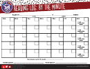 Pizza Hut Monthly Reading Log: By The Minute