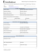Medical Drugs Prior Authorization Form - United Healthcare