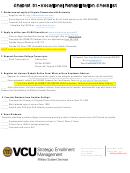 Vocational Rehabilitation Checklist