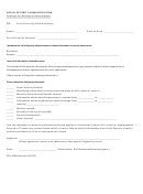 Form Ssa-3288 - Consent For Release Of Information