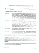 Georgia Advanced Directives For Health Care Form