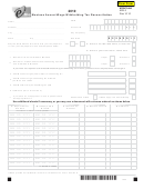 Form Mw-3 - Montana Annual Wage Withholding Tax Reconciliation - 2010