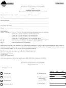 Montana Corporation License Tax - Payment Form - Montana Department Of Revenue