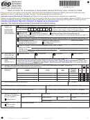 Form De 1hw - Employers Of Household Workers Registration And Update Form - California Employment Development Department