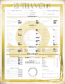 Euthanatos Character Sheet