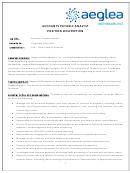 Accounts Payable Analyst Position Description