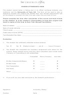 Course Attendance Form