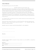 Letter Of Interest Template To Qualified Energy Service Provider