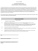Personal Information Form And Authorization Of Indirect Collection, Use And Disclosure Of Personal Information