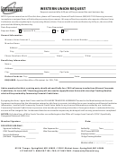 Western Union Request