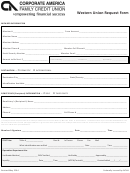 Western Union Request Form