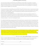 Patient Hipaa Compliance Consent Form